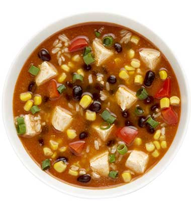 CAMPBELL'S FRESH PREPARED SOUP SPOT®: MEXICAN CHICKEN TORTILLA SOUP WITH SOUP CUSTOMIZER(TM) GR. K-8