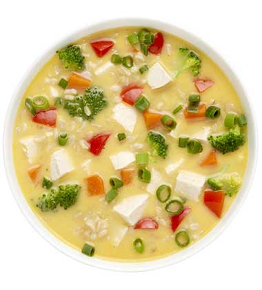 CAMPBELL'S FRESH PREPARED SOUP SPOT®: THAI CHICKEN & RICE SOUP WITH SOUP CUSTOMIZER TM GR. 9-12