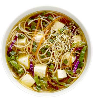 CAMPBELL'S FRESH PREPARED SOUP SPOT®: VEGETARIAN PHO NOODLE SOUP WITH SOUP CUSTOMIZER TM GR. K-8