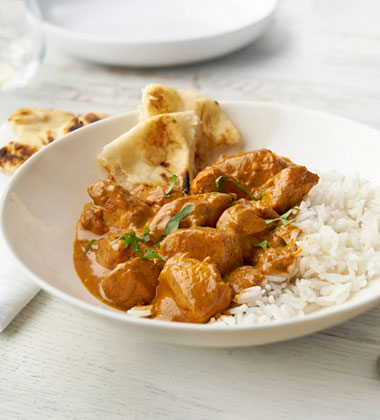 INDIAN BUTTER CHICKEN MADE WITH V8® LOW SODIUM VEGETABLE JUICE