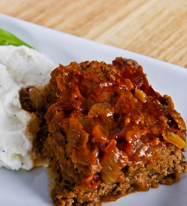 ONION CRUSTED MEATLOAF