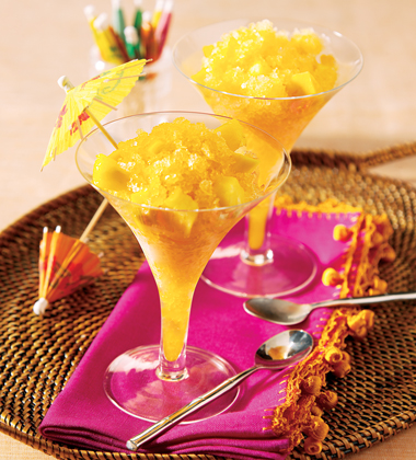 TROPICAL CHAMPAGNE DESSERT ICE