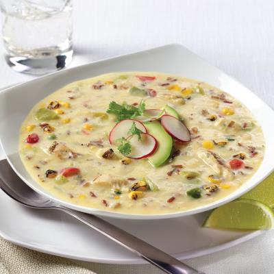 CAMPBELL'S® RESERVE TEQUILA SPIKED FIESTA CHICKEN SOUP