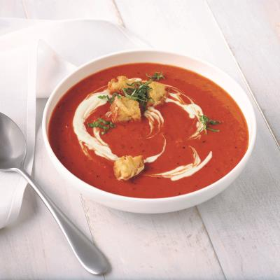 CAMPBELL'S® RESERVE ROASTED RED PEPPER & SMOKED GOUDA BISQUE