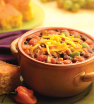 HEARTY VEGETARIAN CHILI MADE WITH V8® VEGETABLE JUICE