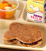 PEANUT BUTTER & JELLY SANDWICH MEAL WITH GOLDFISH BREAD