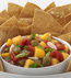 TROPICAL FRUIT SALSA WITH CHIPS