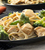 WHOLE WHEAT PASTA ALFREDO WITH CHICKEN & BROCCOLI