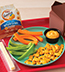 MIX AND DIP HUMMUS LUNCH SERVED WITH GOLDFISH® MADE WITH WHOLE GRAIN CHEDDAR
