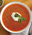 TOMATO BASIL PESTO SOUP MADE WITH CAMPBELL'S® CONDENSED TOMATO SOUP