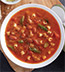 MEATLESS SAUSAGE MINESTRONE SOUP MADE WITH CAMPBELL'S® CONDENSED TOMATO SOUP