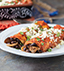 BLACK BEAN & OYSTER MUSHROOM ENCHILADAS MADE WITH V8® SPICY HOT VEGETABLE JUICE
