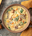 BUTTERNUT SQUASH, KALE & TURKEY SAUSAGE SOUP MADE WITH CAMPBELL'S® HEALTHY REQUEST® CREAM OF MUSHROO