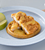 CREAMY SWEET HEAT & WAFFLES MADE WITH CAMPBELL'S® CLASSIC HEALTHY REQUEST® CREAM OF CHICKEN SOUP