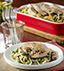 CHICKEN TETRAZINI MADE WITH CAMPBELL'S® CREAM OF MUSHROOM SOUP