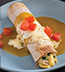 CHICKEN AND WHITE BEAN ENCHILADAS MADE WITH CAMPBELL'S® HEALTHY REQUEST® CREAM OF CHICKEN SOUP