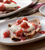 CHOCOLATE CREPES WITH CHERRIES MADE WITH CAMPBELL'S® HEALTHY REQUEST® CREAM OF MUSHROOM SOUP