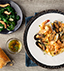 MIXED SEAFOOD FETTUCCINE MADE WITH CAMPBELL'S® RESERVE LOBSTER BISQUE