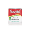 CAMPBELL'S® LOW SODIUM CREAM OF MUSHROOM