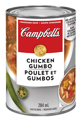 CAMPBELL'S® Condensed Chicken Gumbo Soup