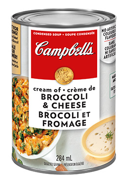 CAMPBELL'S® Condensed Cream of Broccoli and Cheese Soup