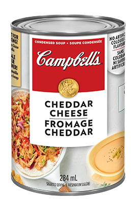 Soupe condensée Fromage Cheddar de CAMPBELL'S®
