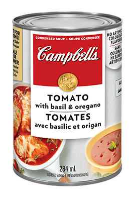 CAMPBELL'S® Condensed Tomato with Basil and Oregano Soup