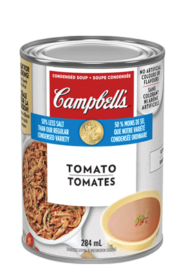 CAMPBELL'S® Condensed 50% Less Salt Tomato