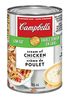 CAMPBELL'S® Condensed Low Fat Cream of Chicken Soup