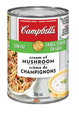 CAMPBELL'S® Condensed Low Fat Cream of Mushroom Soup