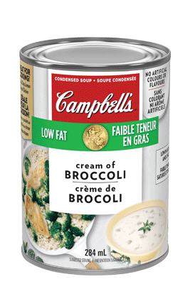 CAMPBELL'S® Condensed Low Fat Cream of Broccoli Soup