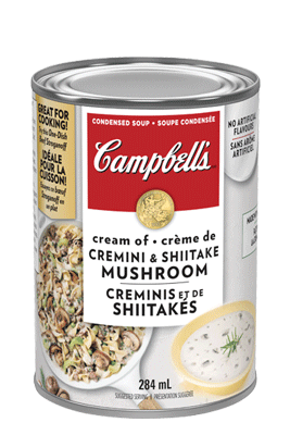 CAMPBELL'S® Condensed Cream of Cremini & Shiitake Mushroom
