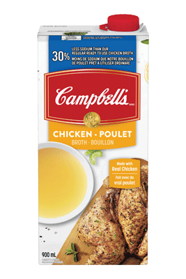 CAMPBELL'S® 30% Less Sodium Ready to Use Chicken   Broth