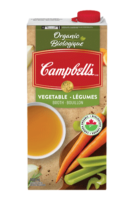 CAMPBELL'S® Ready to Use Organic Vegetarian Vegetable Broth