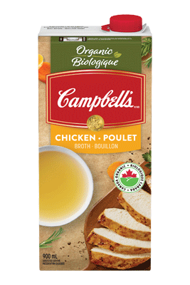 CAMPBELL'S® Organic Free Range Chicken Broth