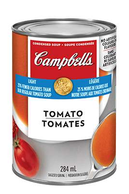 CAMPBELL'S® Condensed 25% Less Calories Tomato Soup