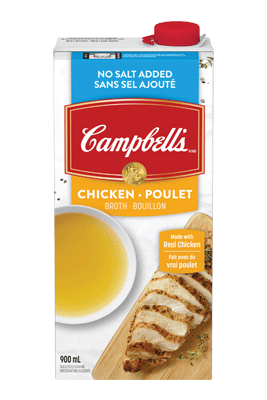 CAMPBELL'S® No Salt Added Ready to Use Chicken Broth