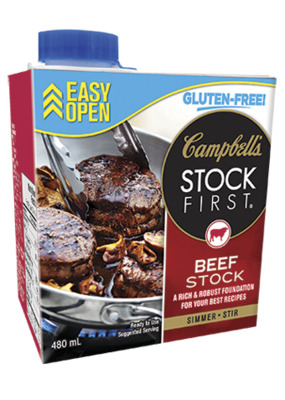 CAMPBELL'S Stock First ® Beef stock