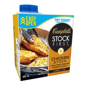 CAMPBELL'S Stock First ® Chicken stock