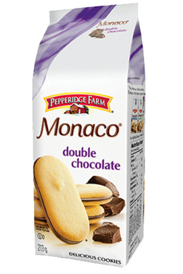 biscuits Monaco® de Pepperidge Farm® double chocolat