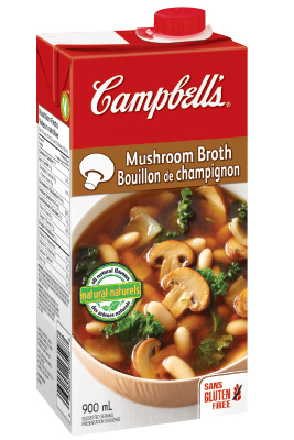 CAMPBELL'S ® Ready To Use Mushroom Broth