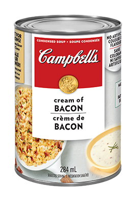 CAMPBELL'S® Condensed Cream of Bacon Soup