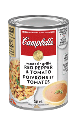 CAMPBELL'S® Condensed Roasted Red Pepper & Tomato Soup