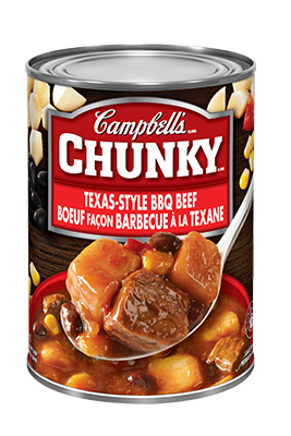 Campbell's® Chunky® Texas-Style BBQ Beef