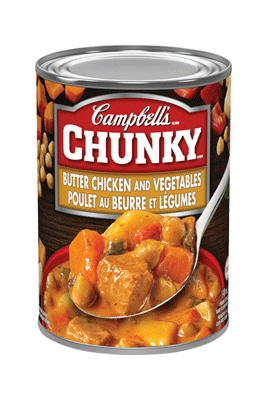 Campbell's® Chunky® Butter Chicken and Vegetables
