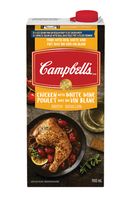 Campbell's® Chicken Broth with White Wine