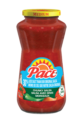 Pace® 30% Less Salt Medium Salsa