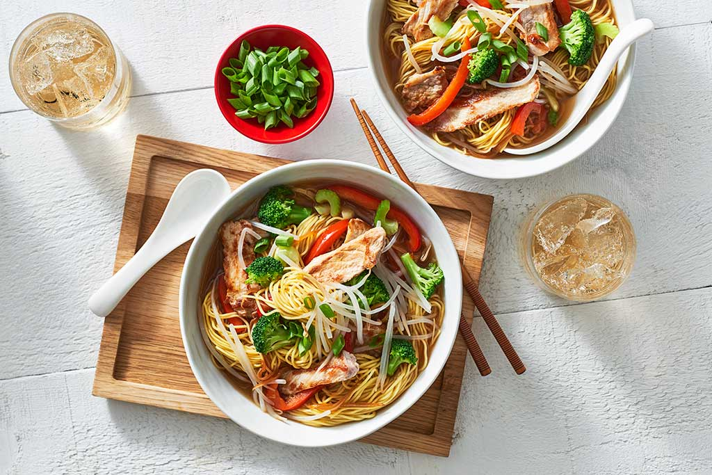 Pork Chow Mein Soup