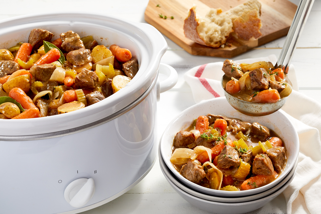 Slow Cooker Beef Stew Recipe Cook With Campbells Canada
