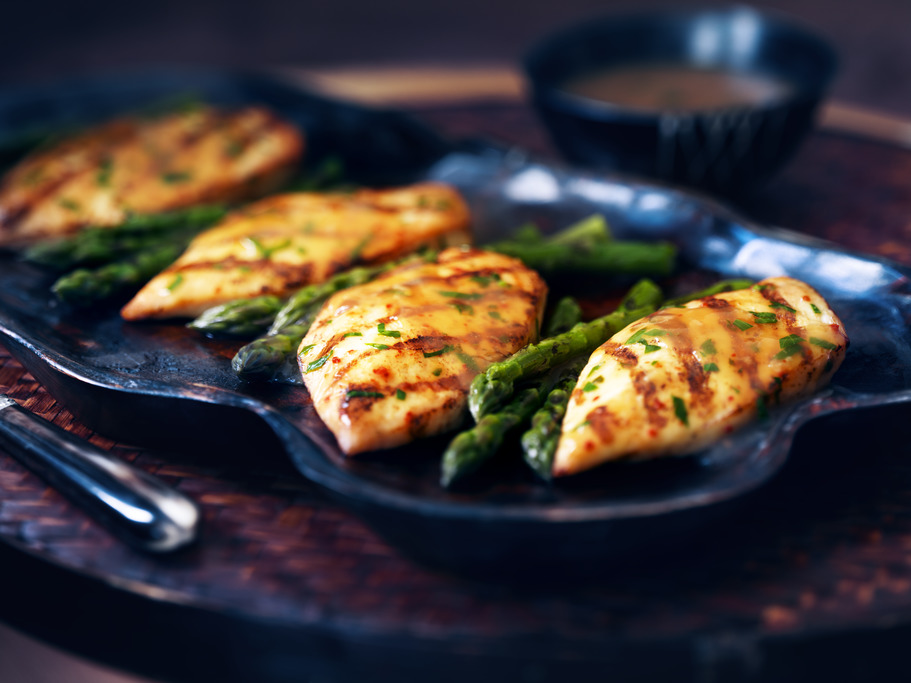 Asian Inspired Grilled Chicken
